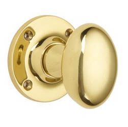Croft 1754 Oval Door Knob