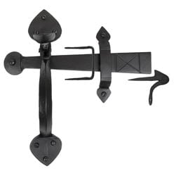 Traditional Blacksmith Gothic Thumb Latch
