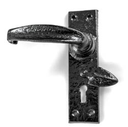 Kirkpatrick 2440 Rockingham Lever Door Handle with Covered Escutcheon