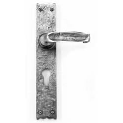 Louis Fraser 560 Lever Door Handle - Pewter Finish