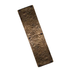 Louis Fraser 365 Push Plate - Bronze Finish