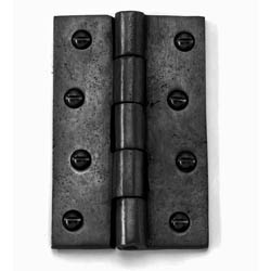 Louis Fraser 600/601 Butt Hinges - Black Finish