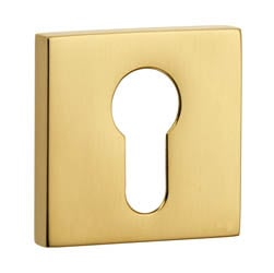 Croft 4584 Euro Square Escutcheon