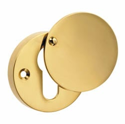 Croft 4585 Round Euro Profile Covered Escutcheon