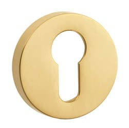 Croft 4586 Round Euro Profile Escutcheon