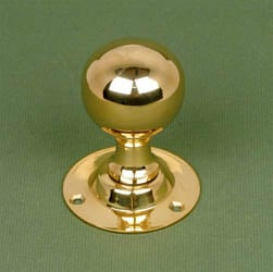 Brass Round Door Knobs
