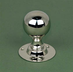 Nickel Round Door Knobs