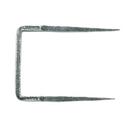 Blacksmith Pewter Patina Staple Pin