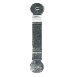 Blacksmith Pewter Patina Penny End Thumb Latch Staple