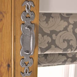 Kirkpatrick 576 Twining Door Pull Handle - Pewter Finish