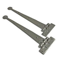 Kirkpatrick A6057 Hinges - Argent Finish