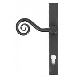 Traditional Blacksmith Monkey Tail Slim Lever Espagnolette Door Handle