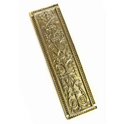 Regency Brass Finger Plate