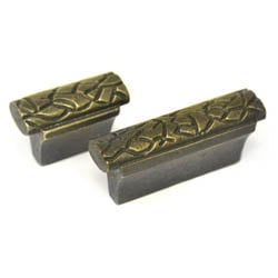 Antique Brass Mosaic Knob