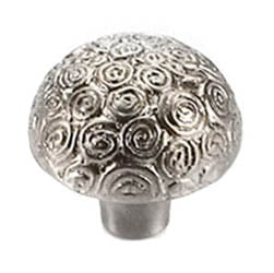 Nickel Nautilus Knob