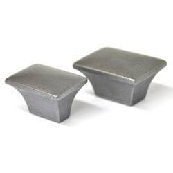 Plain Rectangular Iron Cabinet Knob