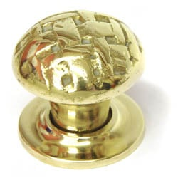 Brass Lattice Cabinet Knob