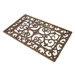 Semi Circle Scroll Door Mat Cast Iron Doormats Cast Iron