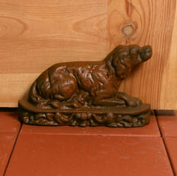 Red Setter Dog Door Wedge