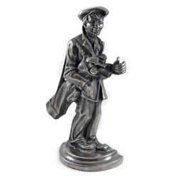 Polished Golfer Doorstop