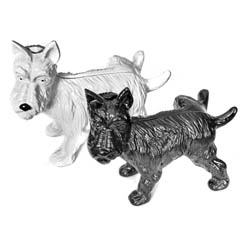 Westie Dog or Scottie Dog Door Stop