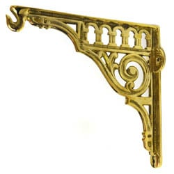 Brass Hanging Basket Bracket