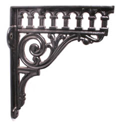 Romanesque Shelf Brackets