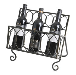 Rope Tied Design Wine Rack