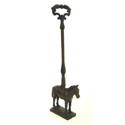 Horse Door Stop With Handle