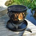Rustic Fire Brazier and BBQ