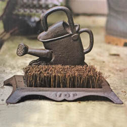 Watering Can Boot Brush