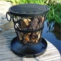 Large Rustic Fire Brazier and BBQ