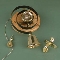 Solid Brass Butler Bell (Internal)