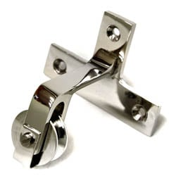 Nickel Butler Bell Directional Pulley