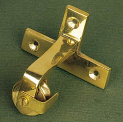 Brass Butler Bell Directional Pulley