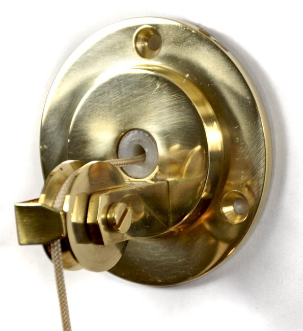 Brass Blanking Butler Bell Pulley