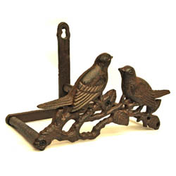 Cast Iron Love Birds Hose Tidy