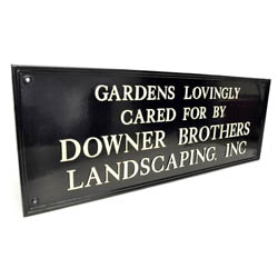 Kensington Grand Bespoke House Name Sign