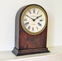 Dark Oak Clapton Clock