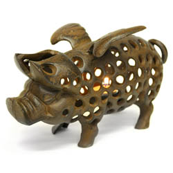 Flying Pig Tea Light