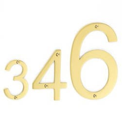 Croft 6420FF Aerial Font House Numbers - Face Fix