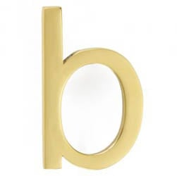 Croft 6420PF House Numbers Aerial Font Pin Fix