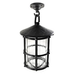 Kirkpatrick 403-CF Hanging Lantern with Ceiling Rose