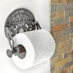 Crown Toilet Roll Holder