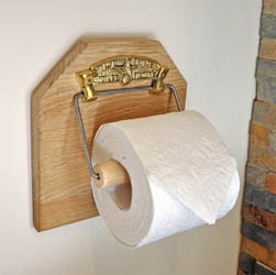 Famous No1 Brass Toilet Fixture with Backing Board