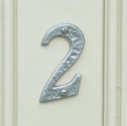 Kirkpatrick 1979 Classic Letters / House Numbers - Pewter Finish