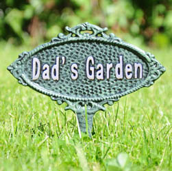 Dad's Garden Sign Spike
