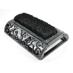 Long Ornate Boot Brush