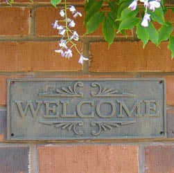 Rustic Welcome Sign | General Signs