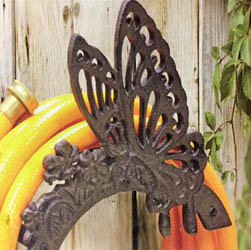 Cast Iron Butterfly Hose Tidy